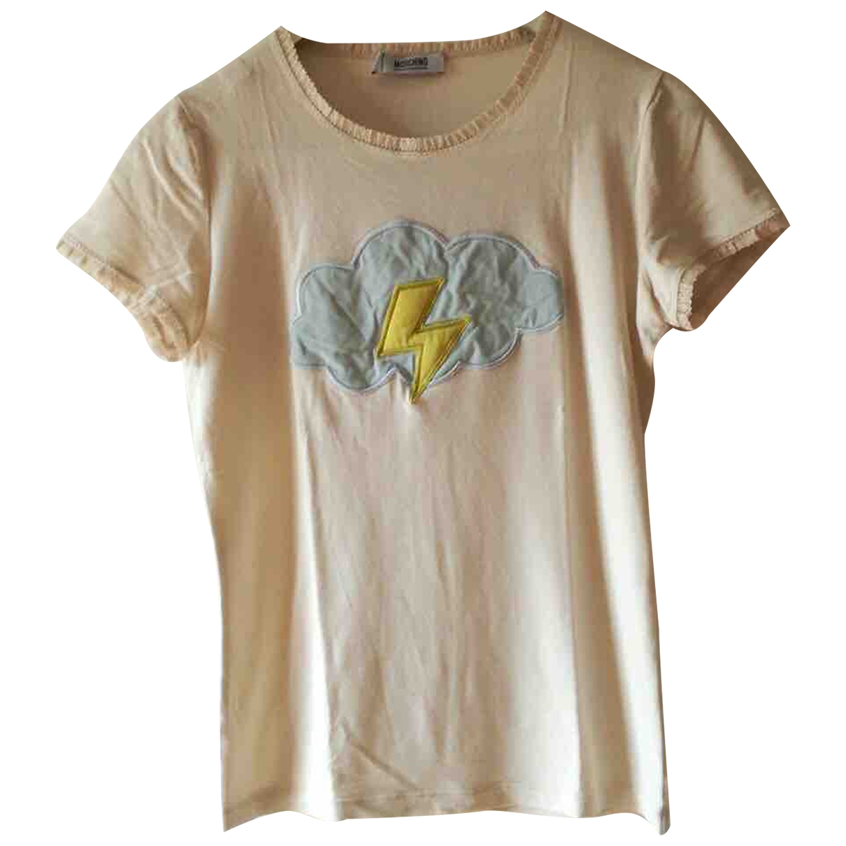Moschino Cheap And Chic \N White Cotton  top for Women 42 IT