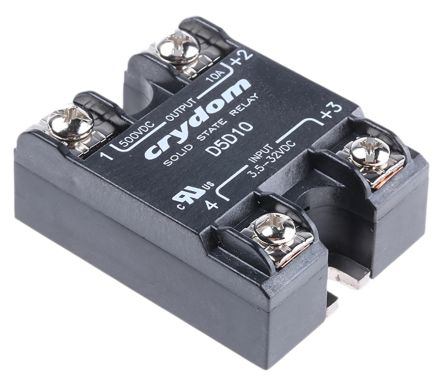 Sensata / Crydom 10 A Solid State Relay, Surface Mount, MOSFET, 500 V Maximum Load