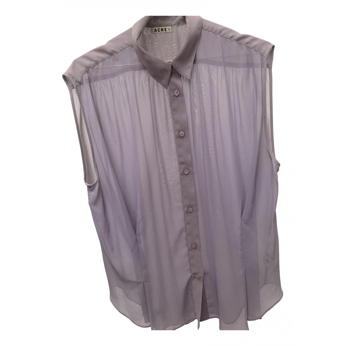 Acne Studios - Top   pour femme - violet