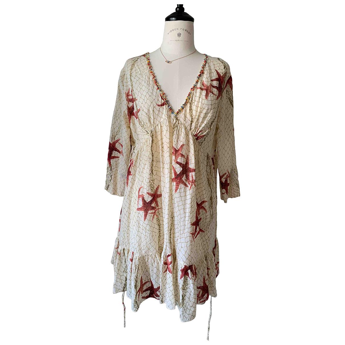 Autre Marque \N Kleid in  Bunt Baumwolle