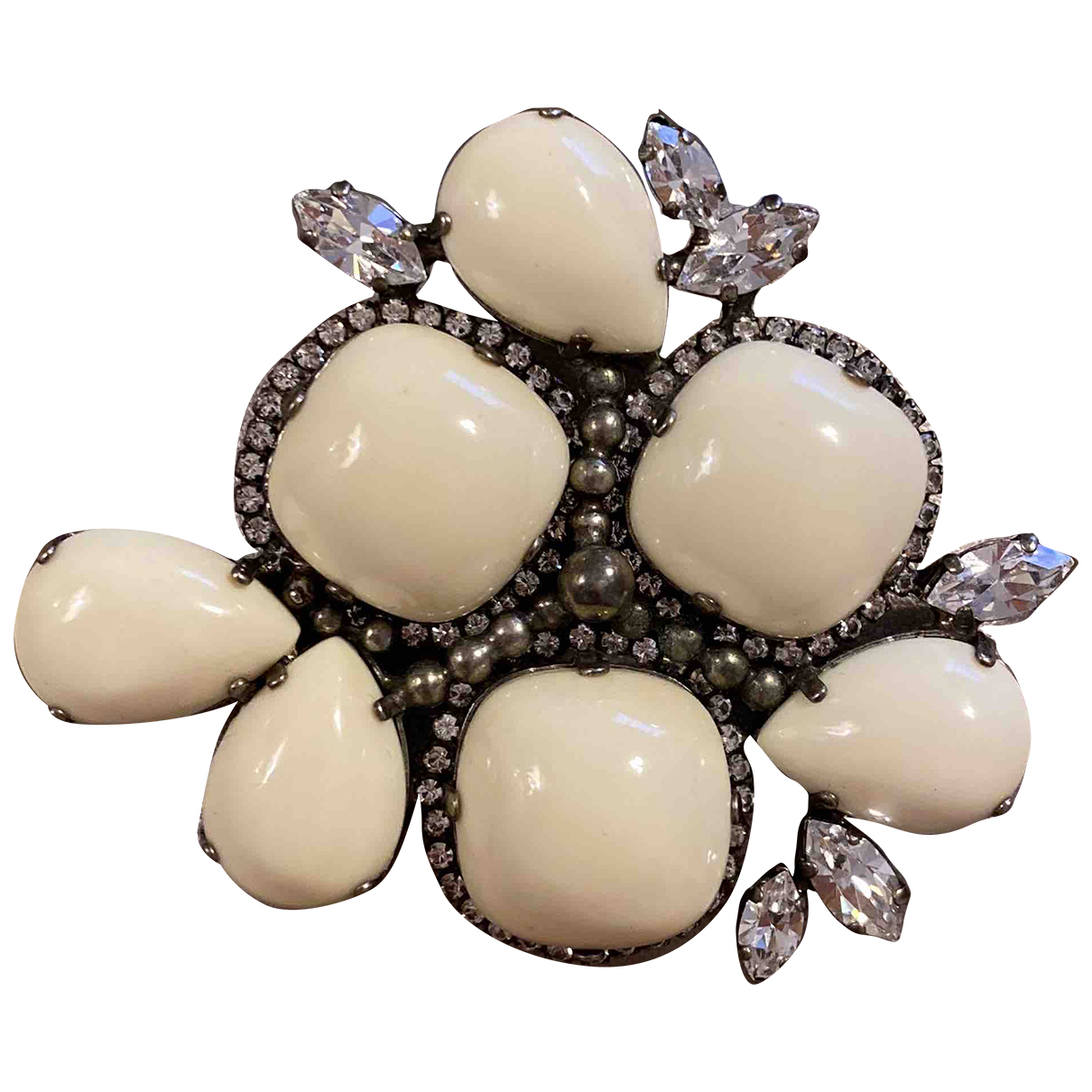 Ermanno Scervino N White Metal Pins & brooches for Women N
