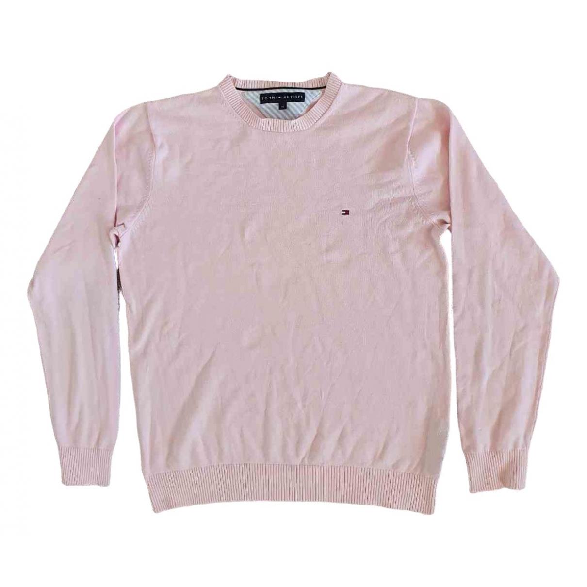 Tommy Hilfiger \N Pullover.Westen.Sweatshirts  in  Rosa Baumwolle