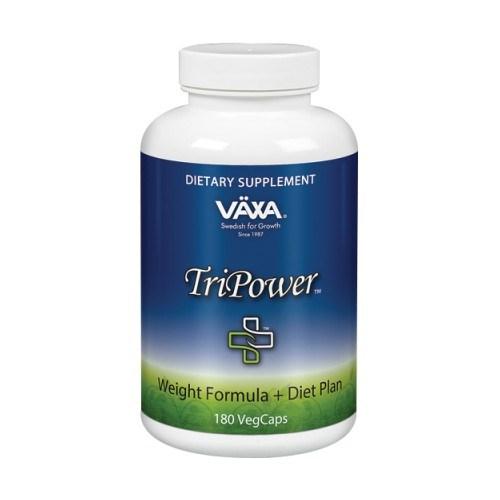 TriPower+ 180 Veg Caps by Vaxa