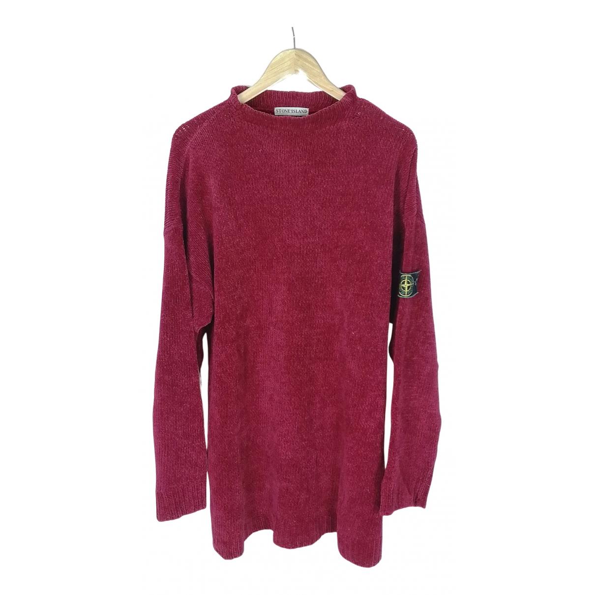 Stone Island N Red Cotton Knitwear & Sweatshirts for Men XL International