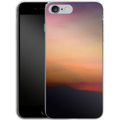 Apple iPhone 6 Plus Silikon Handyhuelle - Sunset von Joy StClaire