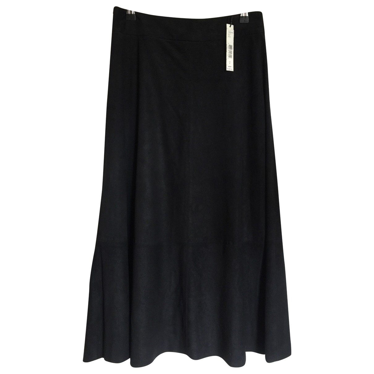 Alice & Olivia \N Black Suede skirt for Women 4 US