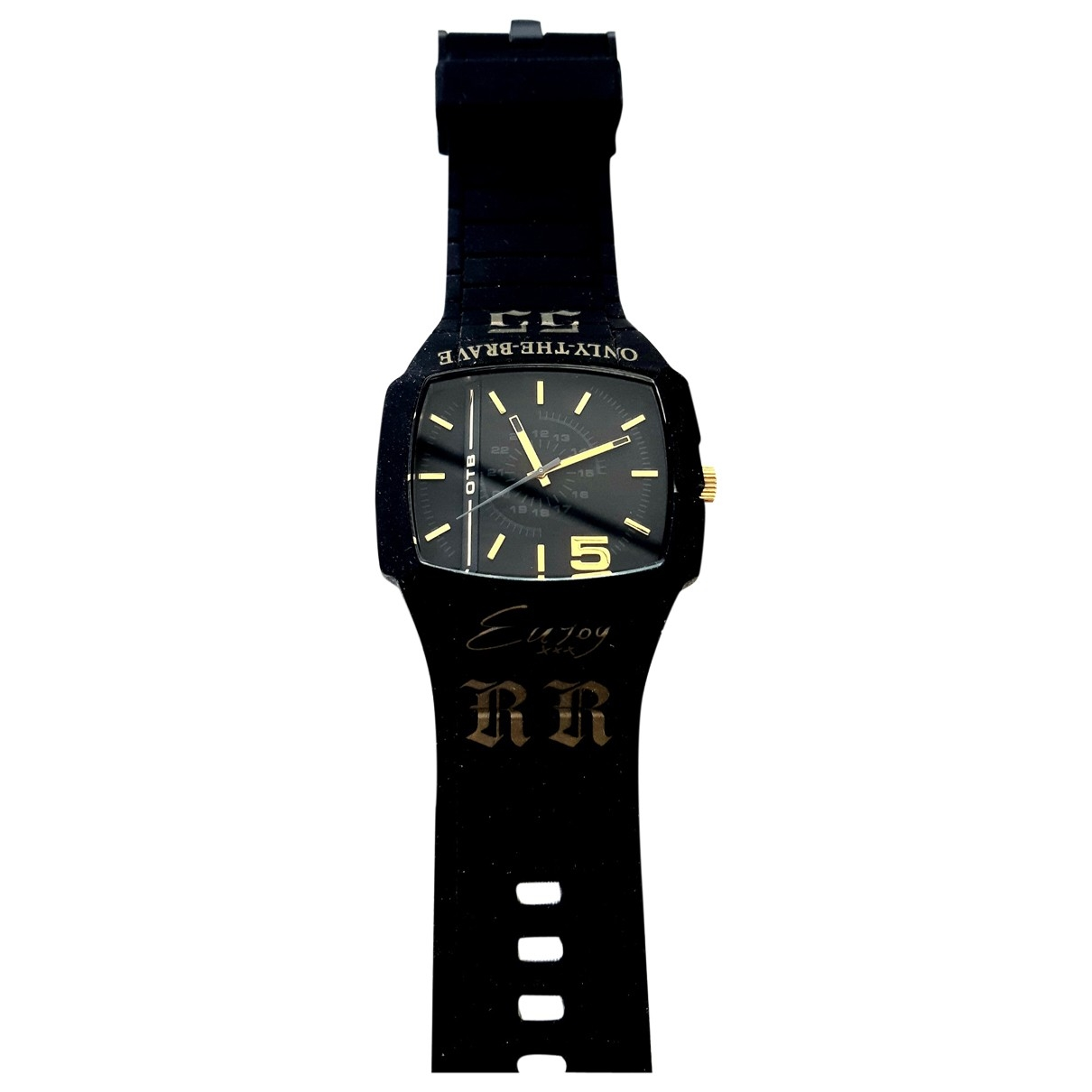 Diesel \N Black Steel watch for Men \N