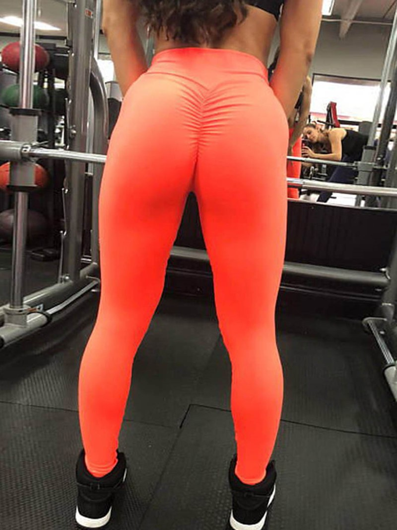 Ericdress Solid Polyester Anti-Sweat Fall Yoga Pants