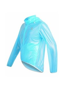 Bright Color Lightweight Outdoor Raincoat Cycling Long Sleeve Clothing