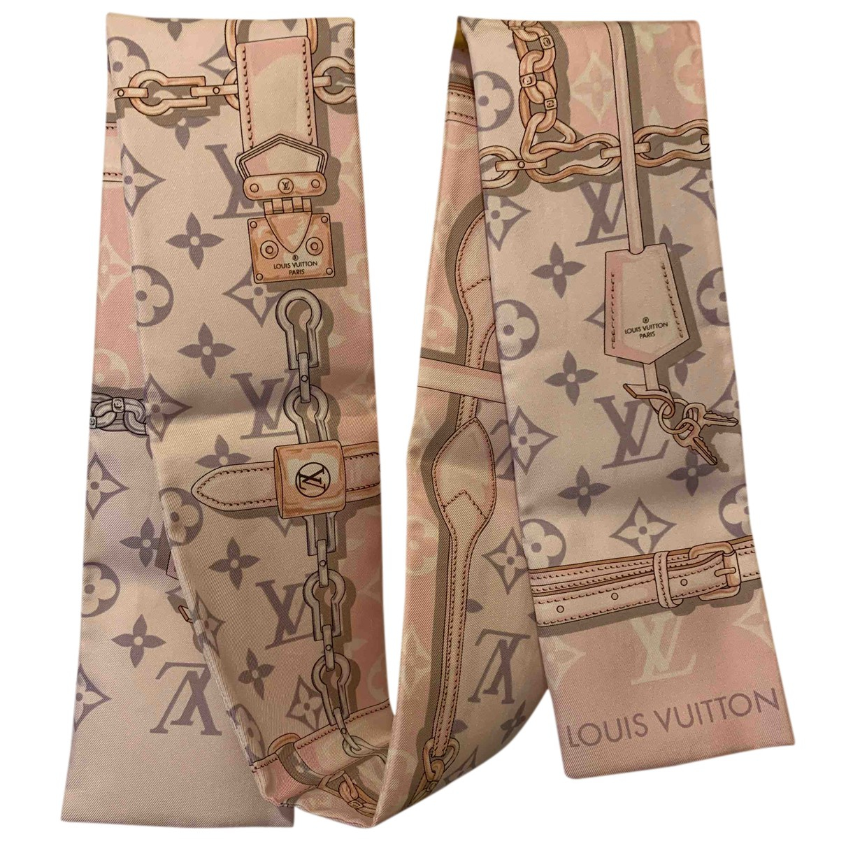 Cuello Chale Beyond Monogram de Seda Louis Vuitton