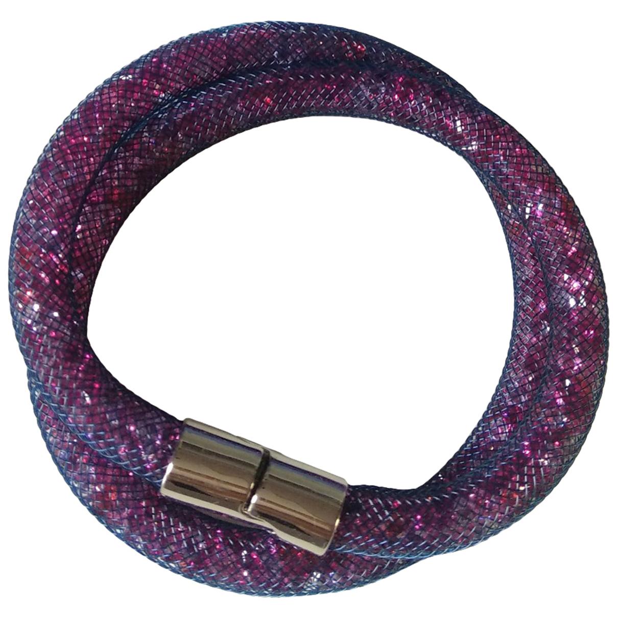 Swarovski - Bracelet Stardust pour femme en cristal - violet