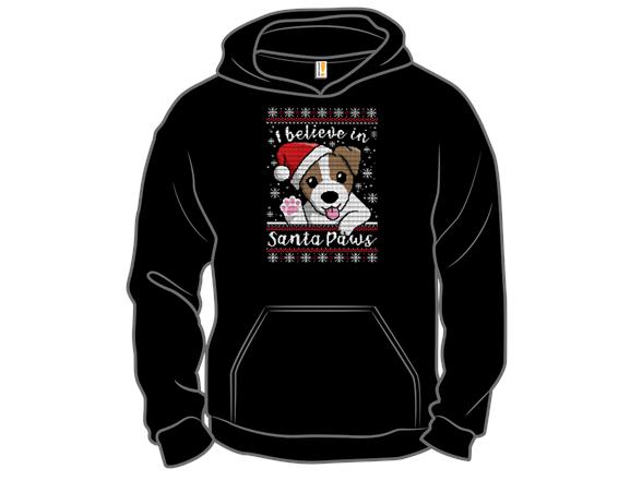Santa Paws Sweater Long Sleeve Tee