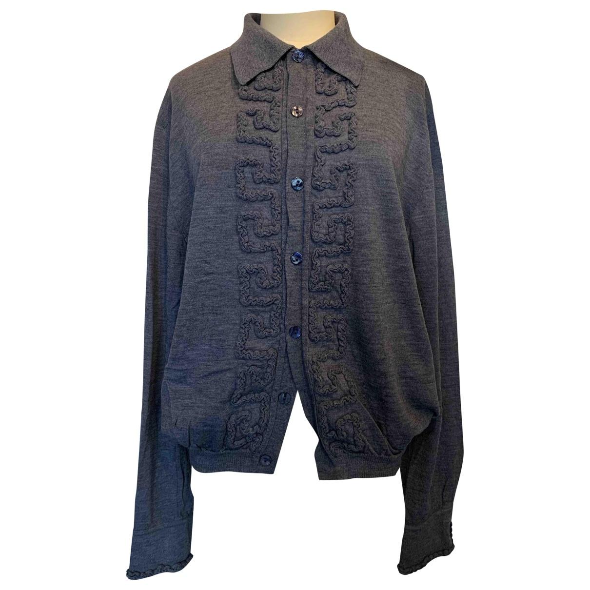 Jean Paul Gaultier \N Grey Wool Knitwear for Women XL International