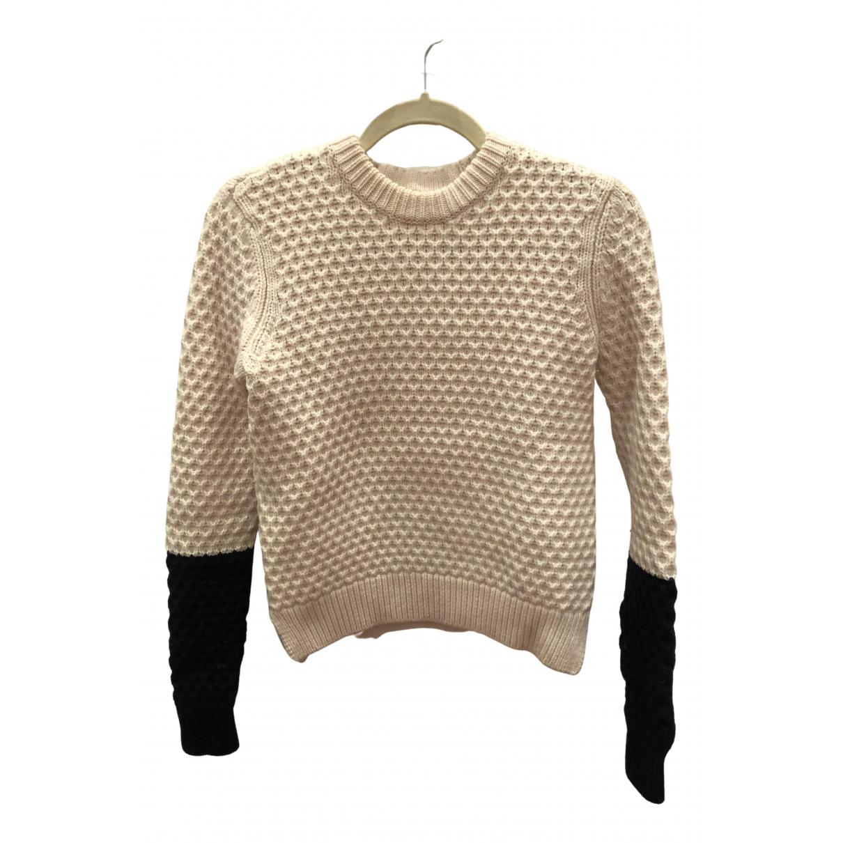 Tory Burch N Ecru Wool Knitwear for Women XS International