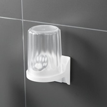 1 pieza soporte de cepillo de dientes montado en pared