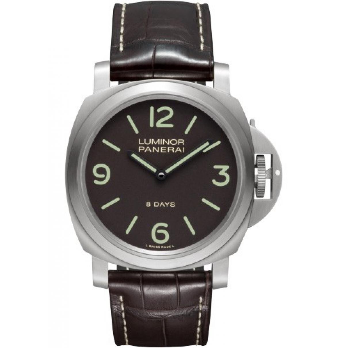 Panerai \N Khaki Steel watch for Men \N