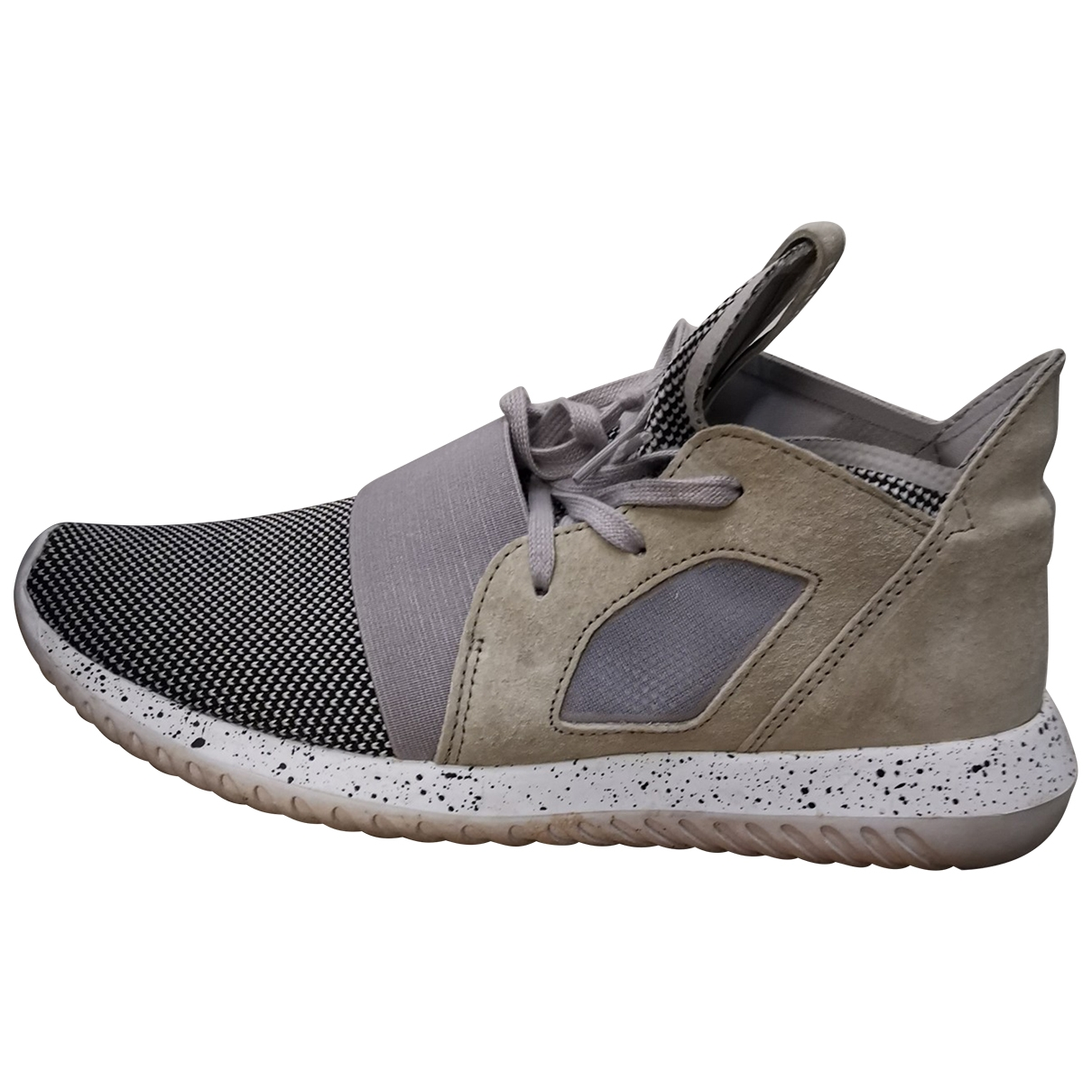 Adidas Tubular Sneakers in  Beige Polyester