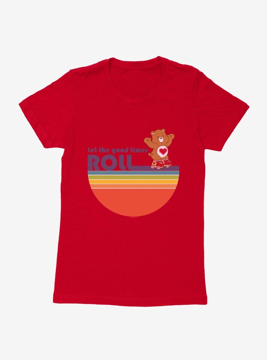 Care Bears Tenderheart Bear Good Times Womens T-Shirt