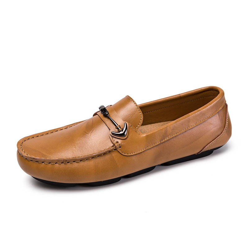 Ericdress PU Comfortable Round Toe Slip-On Mens Casual Shoes