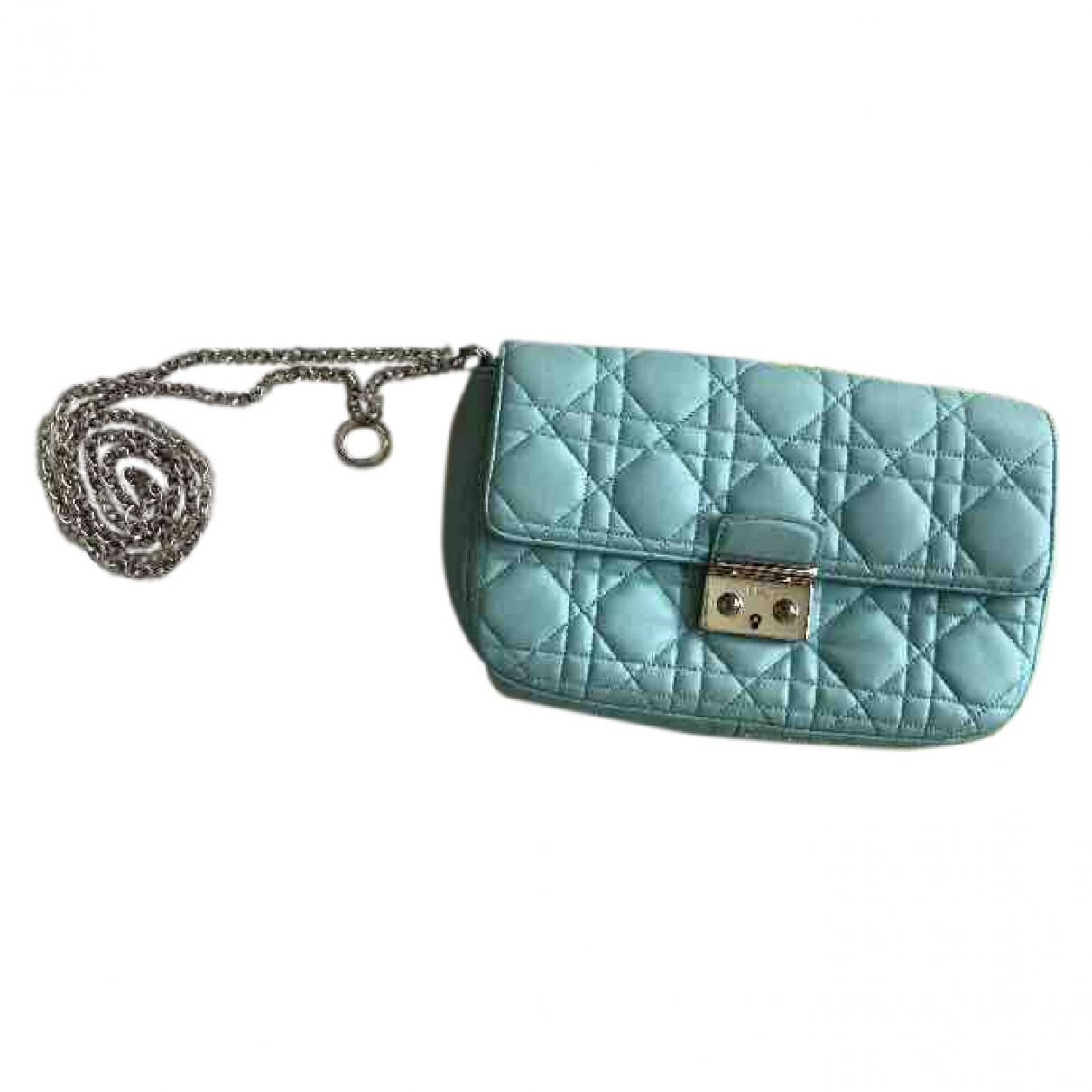 Dior Miss Dior Turquoise Leather handbag for Women \N