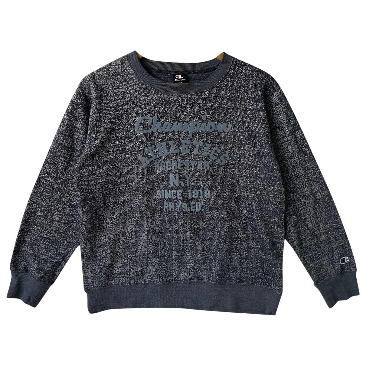 Champion - Pulls.Gilets.Sweats   pour homme en coton - bleu