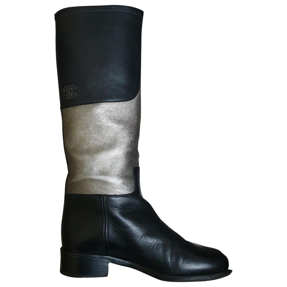 Botas altas de Cuero Chanel