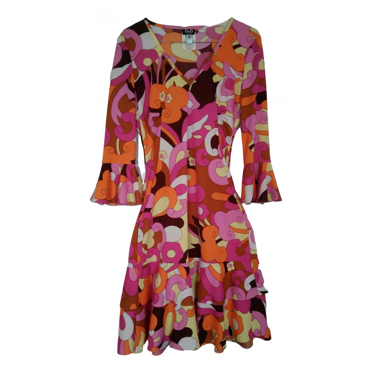 D&g \N Kleid in  Bunt Polyester