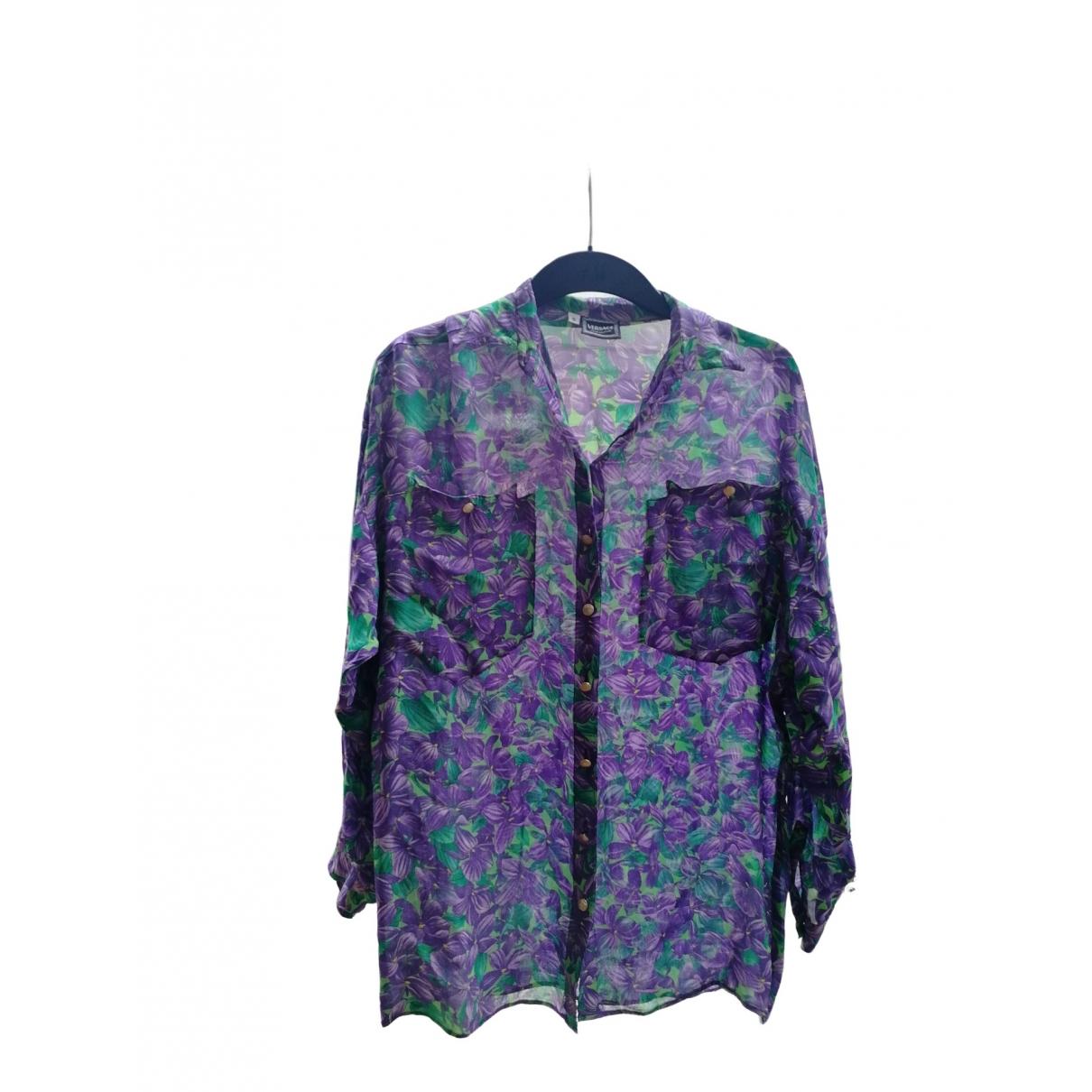 Versace Jean - Top   pour femme - violet