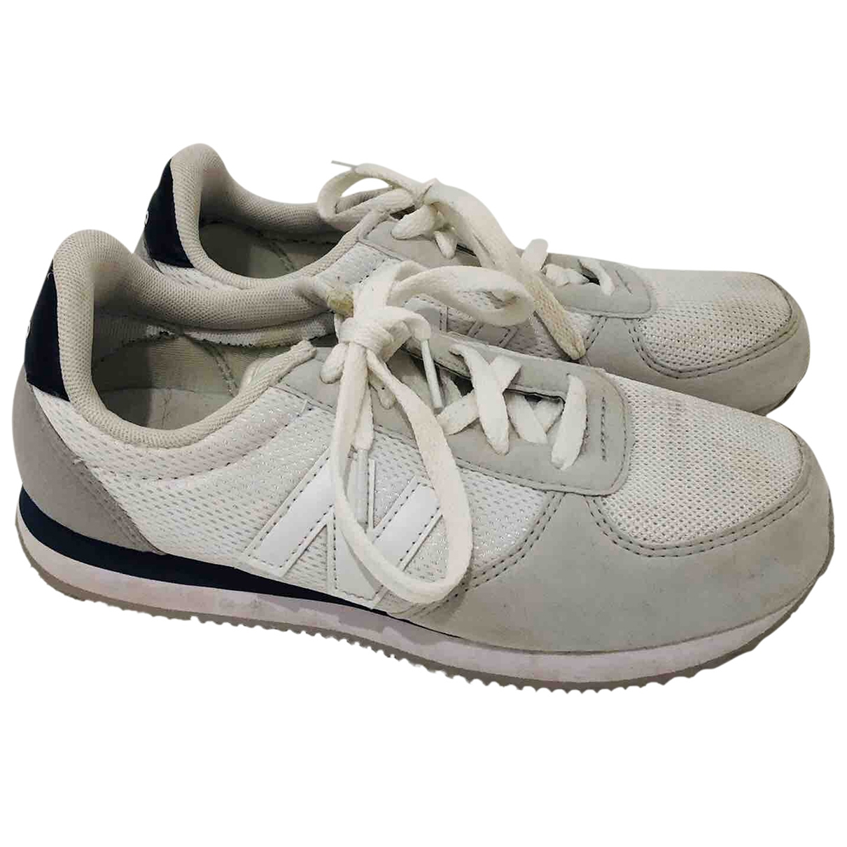 New Balance \N White Cloth Trainers for Women 37 EU