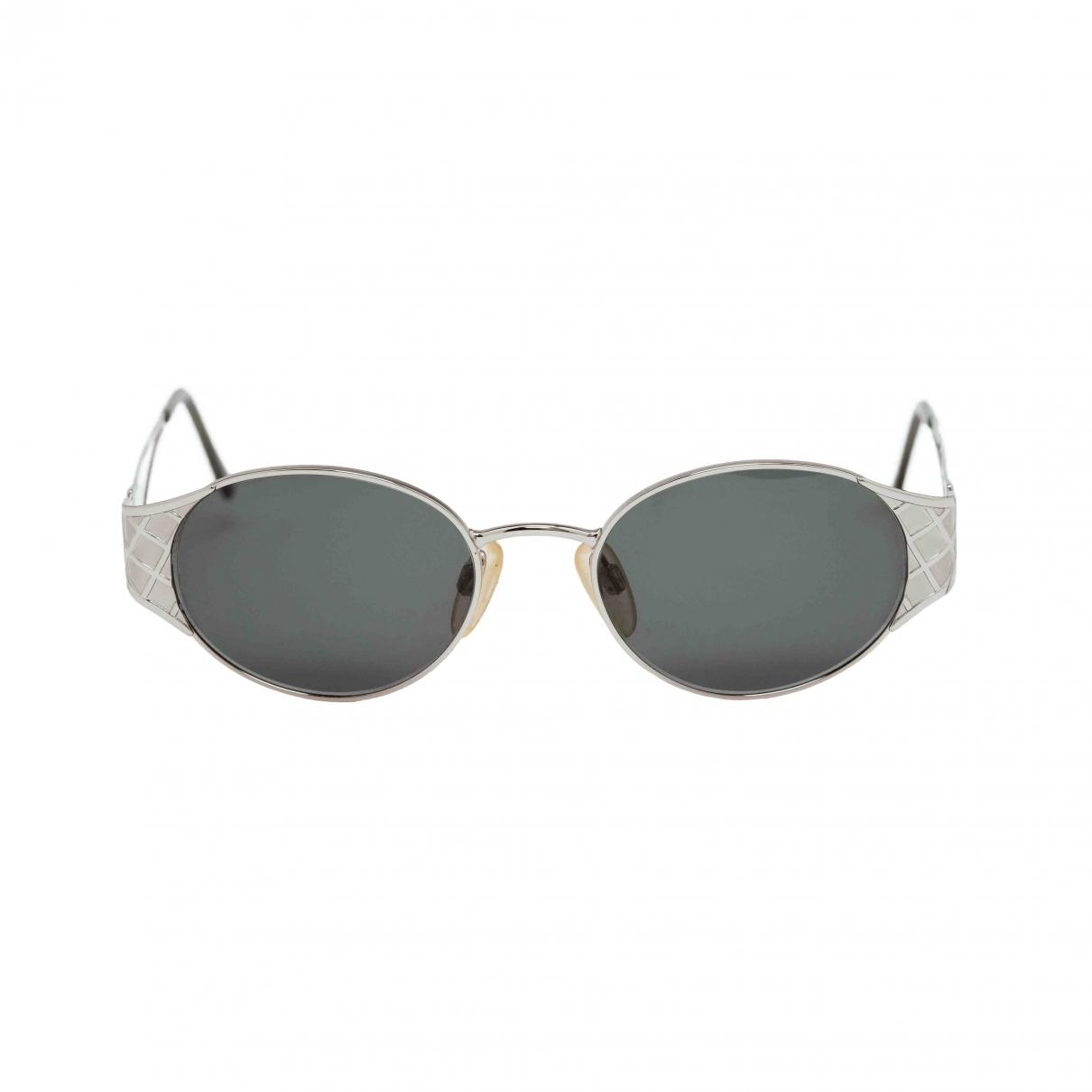 Yves Saint Laurent \N Sonnenbrillen in  Silber Metall