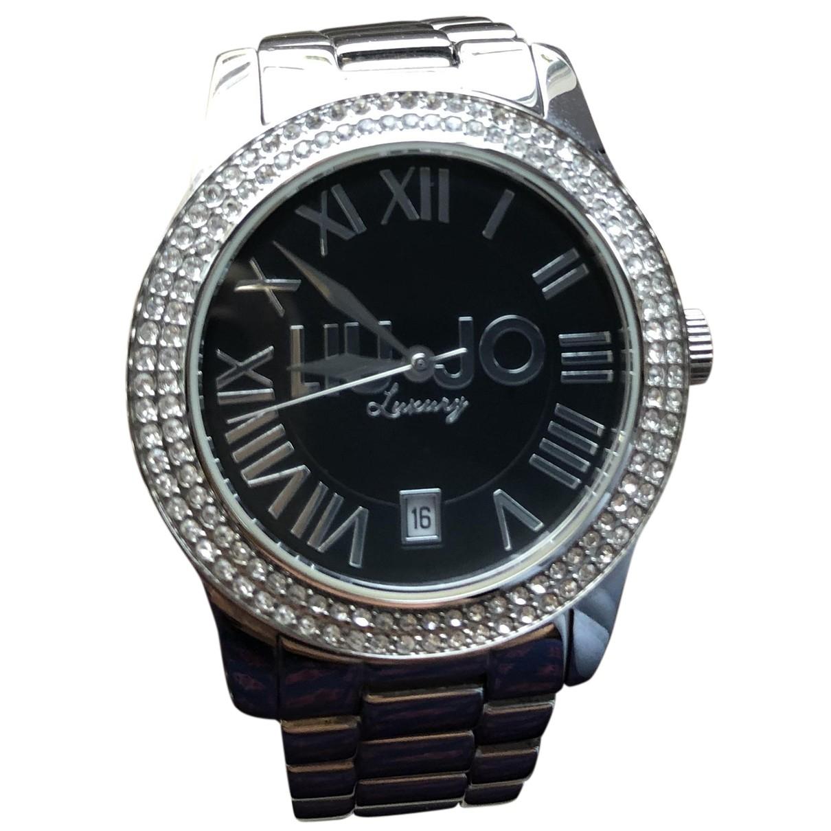 Liu.jo N Black Steel watch for Women N