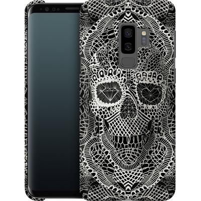 Samsung Galaxy S9 Plus Smartphone Huelle - Lace Skull von Ali Gulec