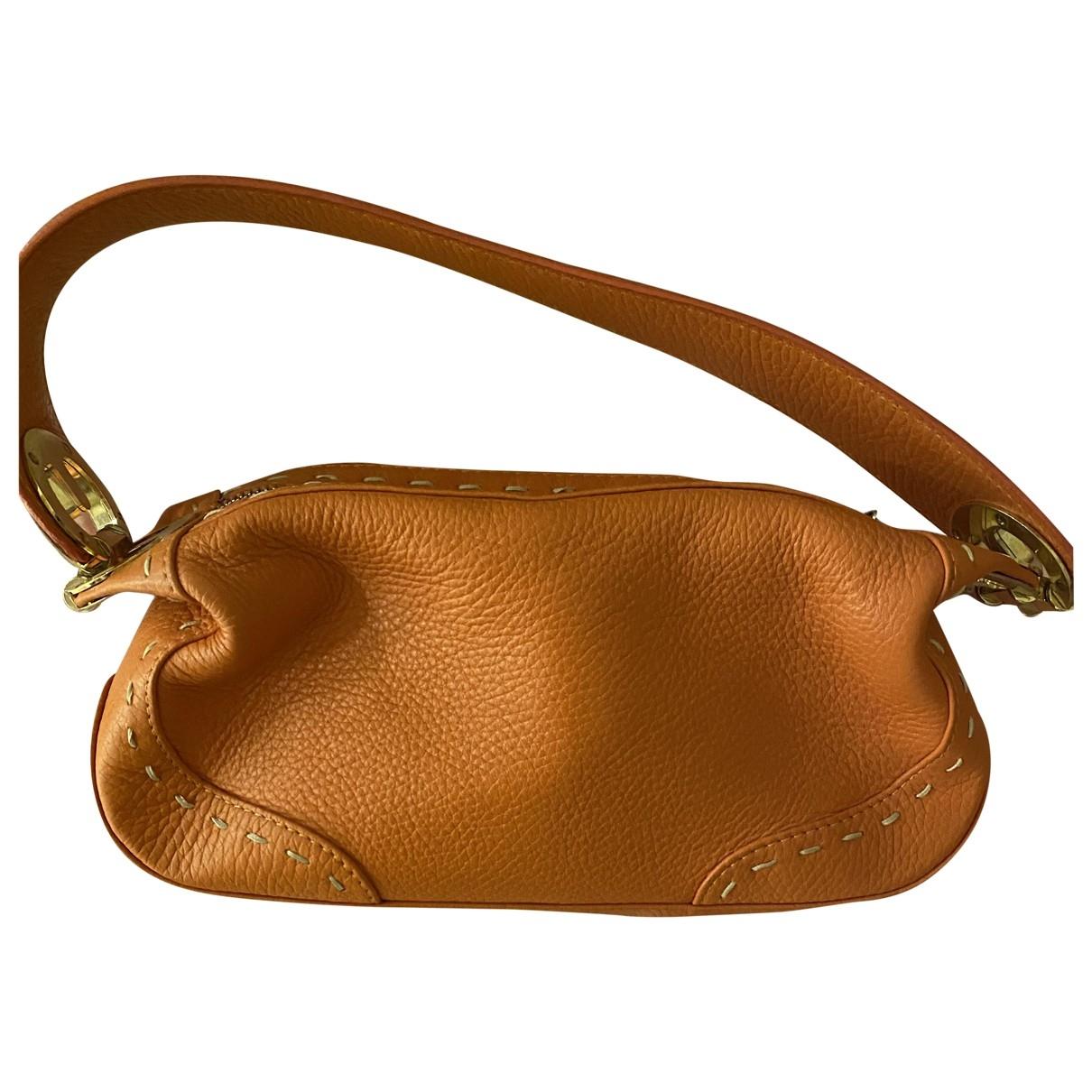 Escada \N Orange Leather handbag for Women \N