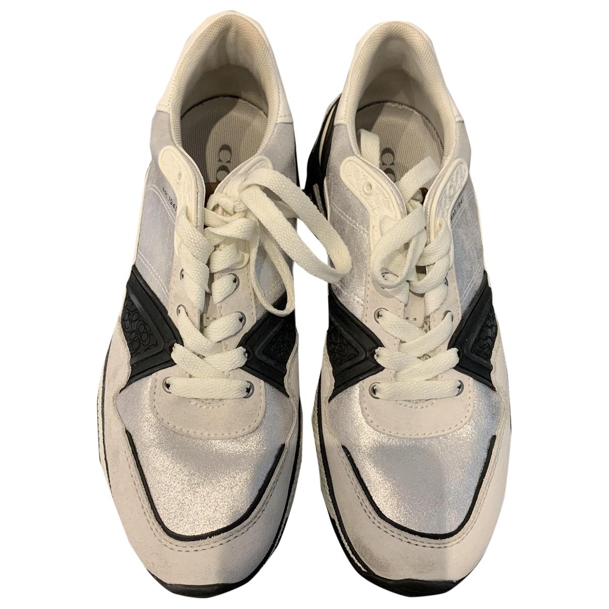 Coach \N Sneakers in  Schwarz Leder