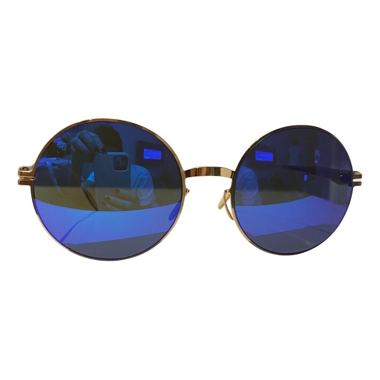 Mykita N Gold Metal Sunglasses for Women N