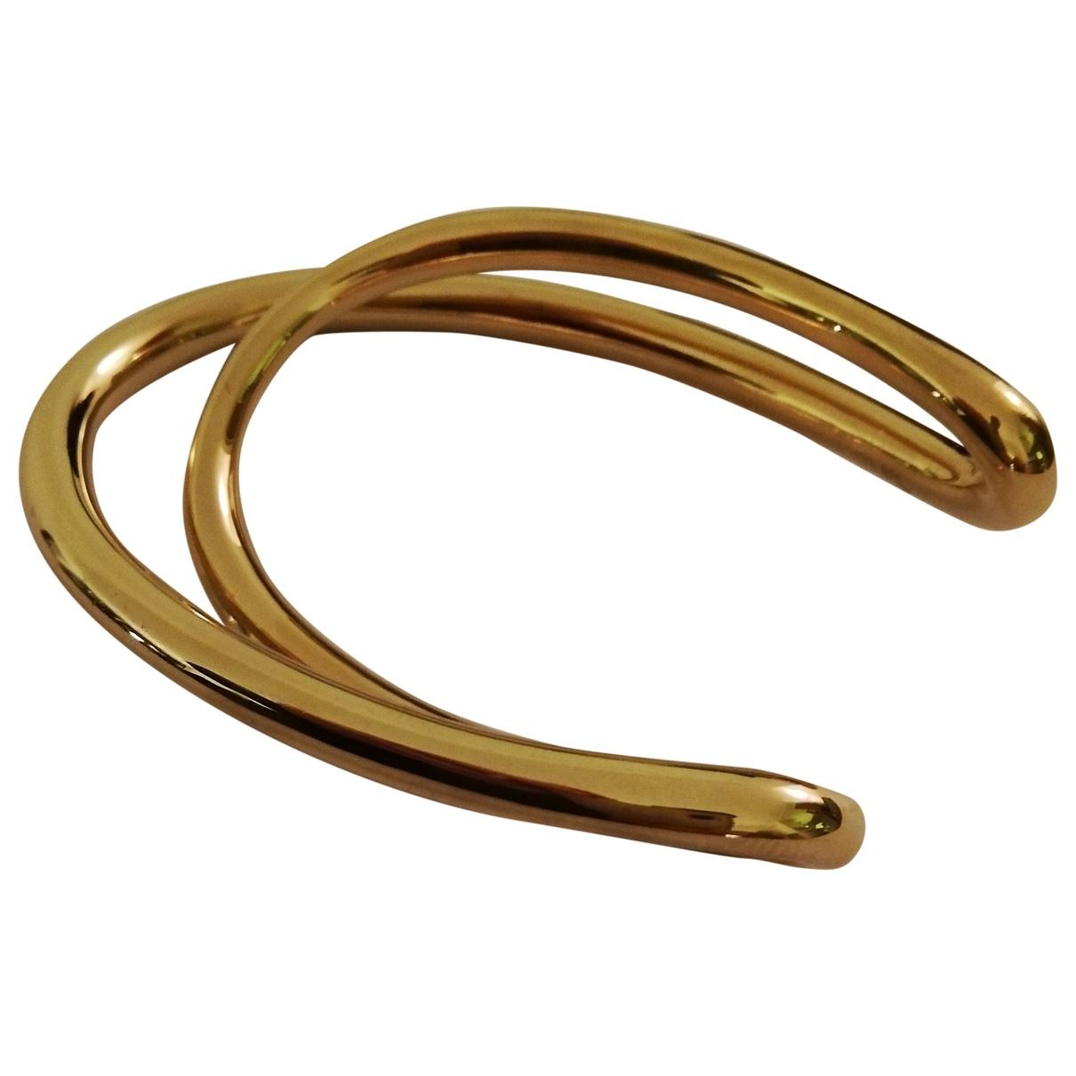 Charlotte Chesnais \N Yellow Silver Gilt bracelet for Women \N
