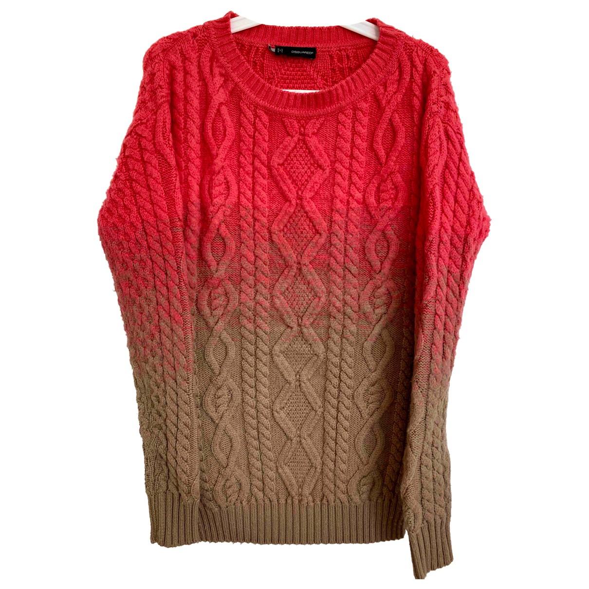 Dsquared2 \N Orange Wool Knitwear for Women S International