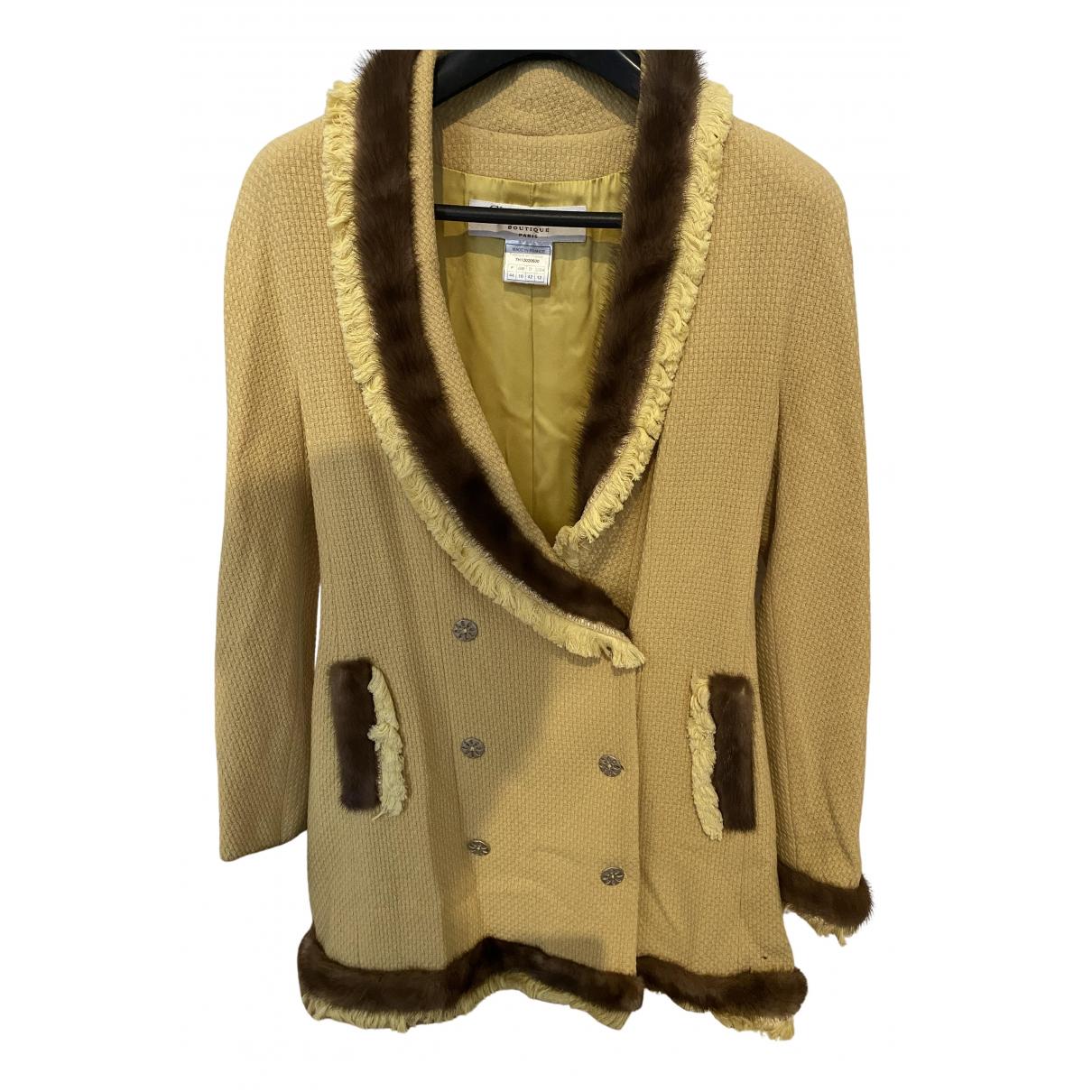 Dior \N Jacke in  Beige Tweed