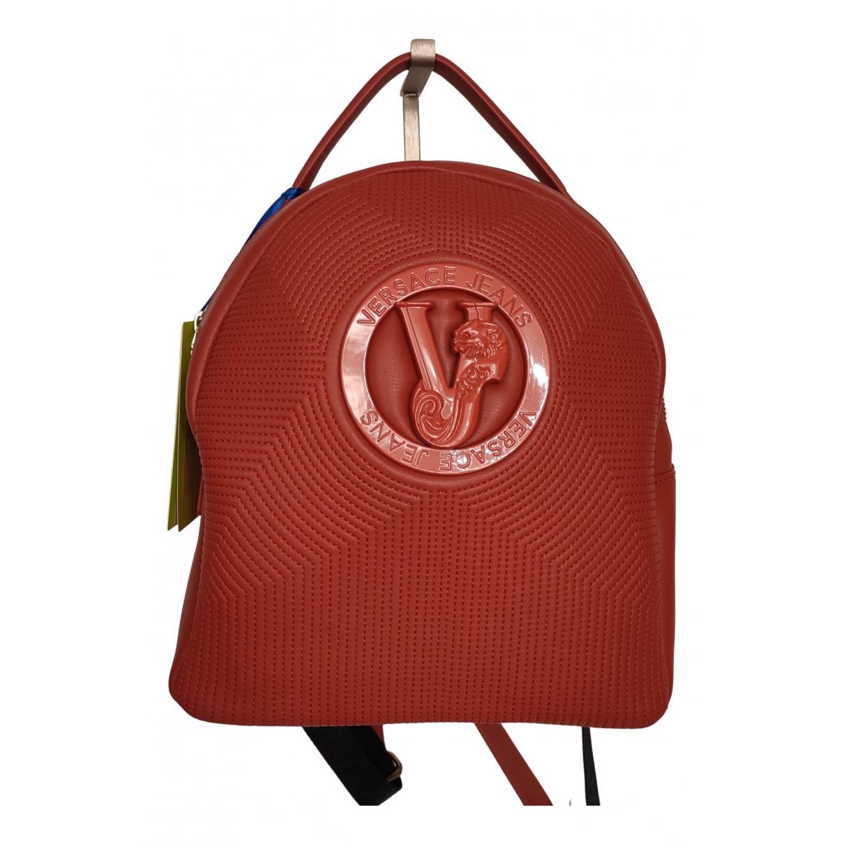 Versace Jeans \N Rucksaecke in  Rot Synthetik
