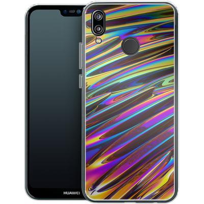 Huawei P20 Lite Silikon Handyhuelle - Twist von Danny Ivan