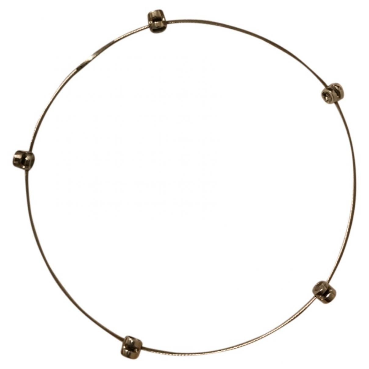 - Bracelet   pour femme en or blanc - argente