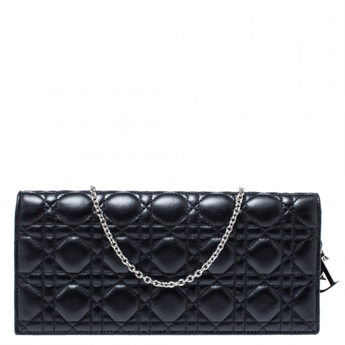 Dior - Pochette   pour femme en a paillettes - noir