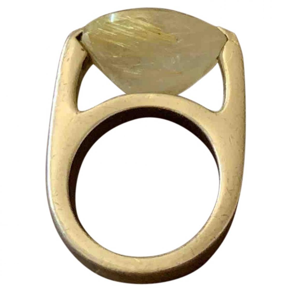 Pianegonda \N Ring in  Weiss Silber