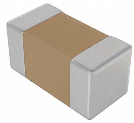 KEMET 0603 (1608M) 4.7nF Multilayer Ceramic Capacitor MLCC 50V dc ±1% SMD C0603C472F5GACTU (4000)