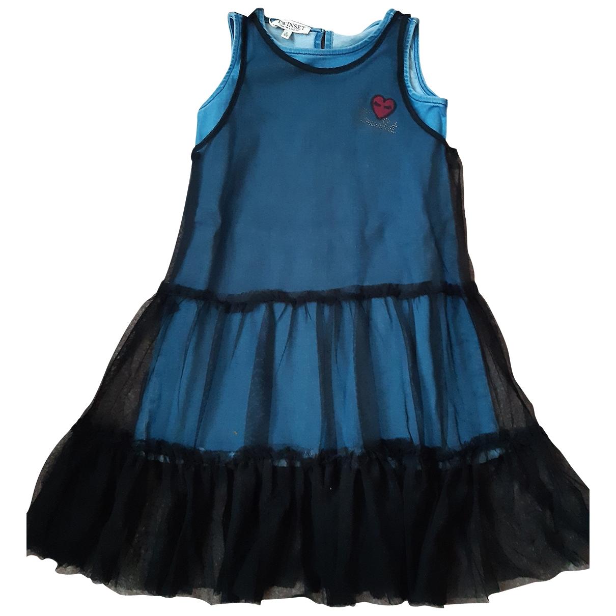 Twin Set \N Kleid in  Schwarz Denim - Jeans