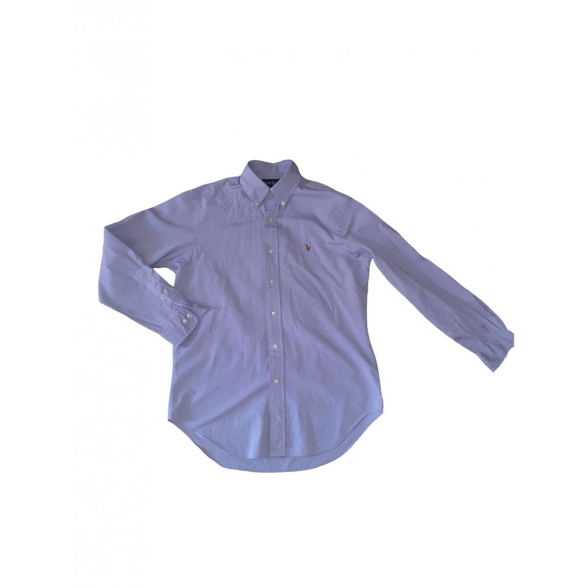 Ralph Lauren \N Hemden in  Lila Baumwolle