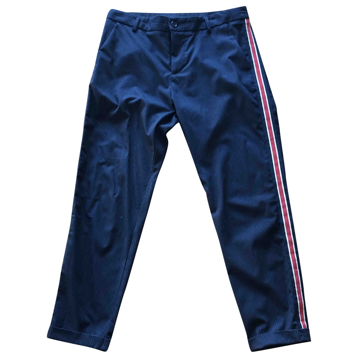 Impérial \N Blue Trousers for Women M International