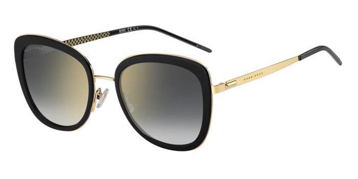 Boss by Hugo Boss Boss 1209/S RHL/FQ Women's Sunglasses Black Size 54
