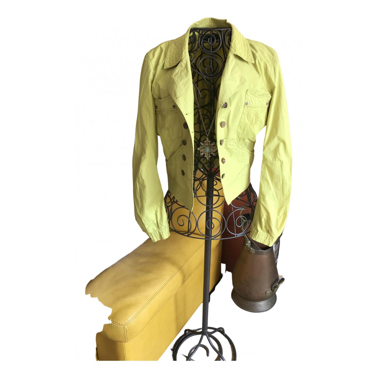 One Step - Veste   pour femme en coton - vert