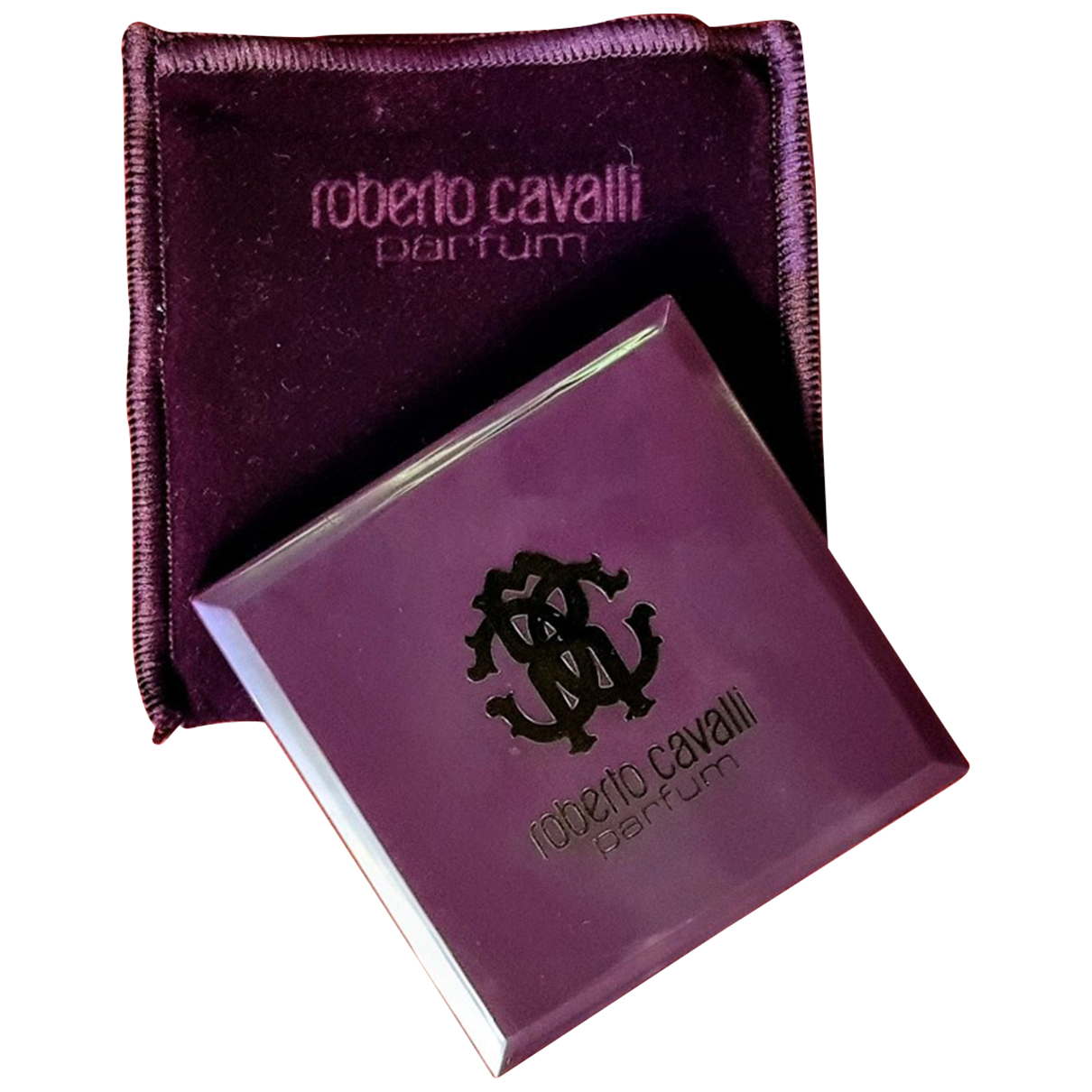 Roberto Cavalli - Mode   pour lifestyle en verre - violet
